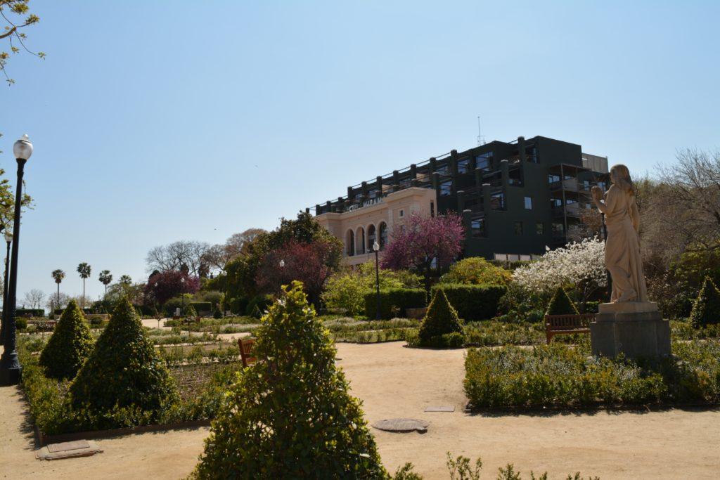 Spania: Miramar Hotel ligger fredelig til på Montjuic i Barcelona. Foto: Yvette-Marie Solem