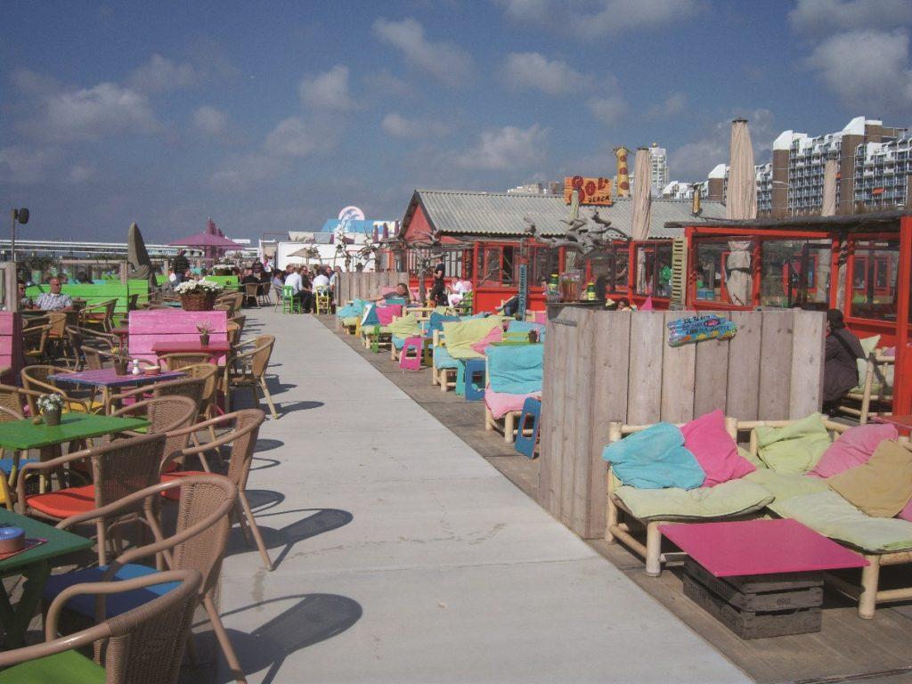 Nederland: Sol Beach Restaurant i Scheveningen. Foto: NTBT