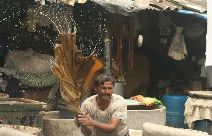 Mumbais skjortevaskeri