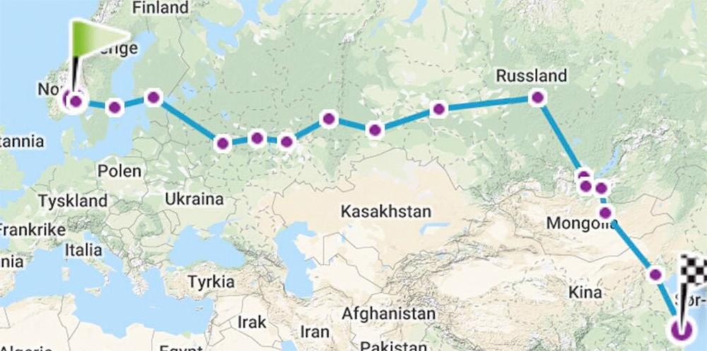 transsibirske jernbane