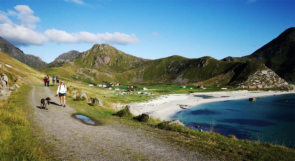 Badeferie i Lofoten