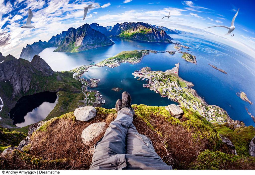 Lofotens majestetiske fjell
