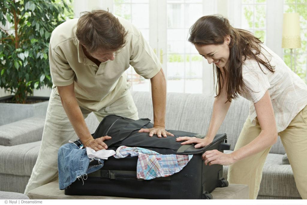 Pakke kofferten riktig