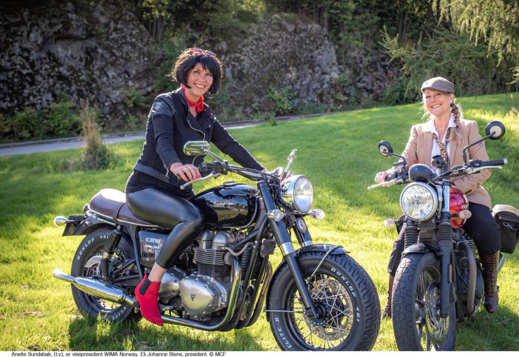 MC-bransjen tror på ferie i Norge med kvinner som førere