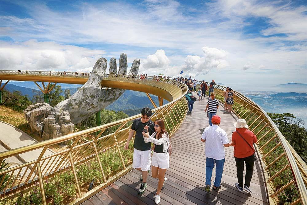 Golden Bridge i Vietnam