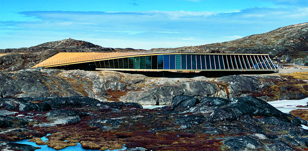 Isfjordsenter på Grønland