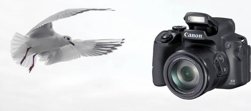 Vinn et Canon kamera