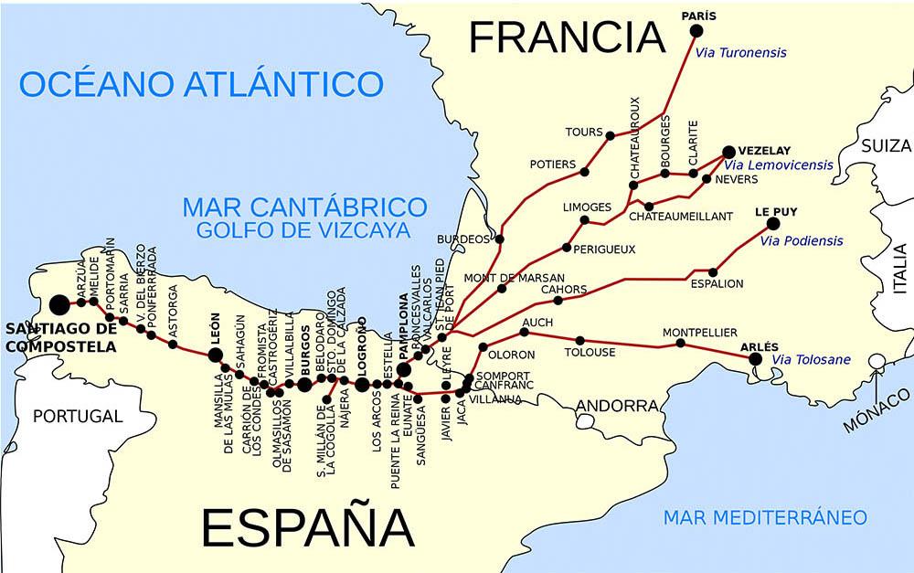 Pilegrimsveien i Spania